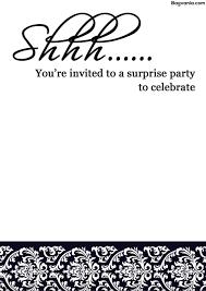 005 Surprise Party Invitation Template Ideas Beautiful