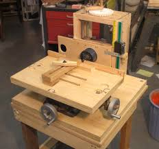 homemade drill press table