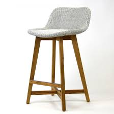 Kitchen Stools Sydney Furniture Skal Bar Stool 75cm Teak Stainless Steel And Interiors