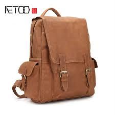 <b>AETOO Original</b> Crazy Horse <b>Leather</b> Handmade Retro Men <b>Bag</b> ...