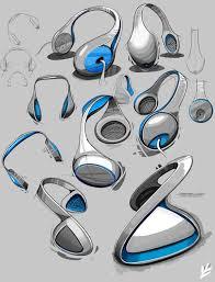 industrial design sketches.  Design KTR Preamplifier U0026 Speakers On Industrial Design Sketches