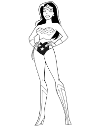 Female Superhero Coloring Pages Wonder Woman Coloring Pages Printtoday Superhero Coloring Pages