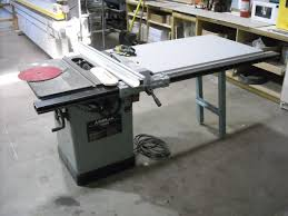 used delta table saw. delta model 34-802 unisaw used table saw t