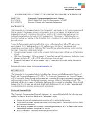 Community Outreach Resume Sample Substitute Teacher Resume Sample