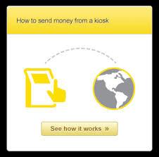 Kiosk Money Western Union Through Send