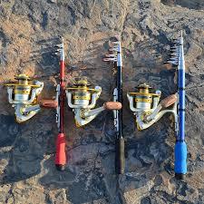 FishingLife <b>Portable Pocket</b> Telescopic <b>Mini</b> Fishing Pole Folded ...