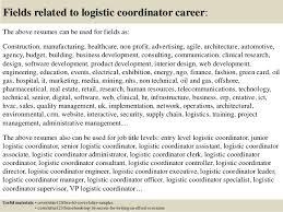 Logistics Coordinator Cover Letter Top 5 Logistic Coordinator Cover Letter Samples