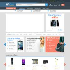 template for online shopping website