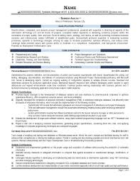 Business Analyst Sample Resume Resume For Study