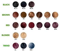 Garnier Color Naturals Shades Chart 28 Albums Of Garnier Hair Dye Shades Explore Thousands Of
