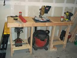 Garage Workbench Design Ideas Small Wooden Garage Workbench Home Design By John From