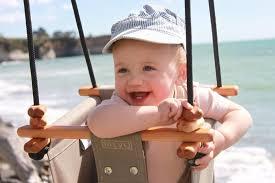 beach baby swing
