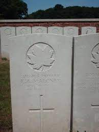 Ernest Alfred Maloney - The Canadian Virtual War Memorial - Veterans  Affairs Canada