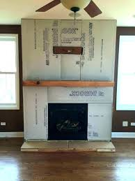 stone veneer fireplace refacing cost with to reface a faux over b