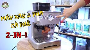 HDSD Máy Xay & Pha Cà Phê Cho Quán Nhỏ Cecotec 20 Barista - YouTube