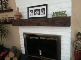 fireplace rustic mantel beam 7 height by midwooddesignsllc on