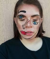 Captivating Halloween Makeup Beauty Bag