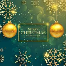 gold christmas background. Unique Background Green Christmas Background With Golden Snowflakes Free Vector For Gold Christmas Background