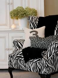 photos black and white zebra print chair interior design blo pottery design ideas