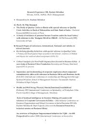 business management research paper cover letter general  research experience dr rashmi hebalkar