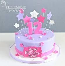 One Layer Birthday Cake Designs Google Search Cake Designs