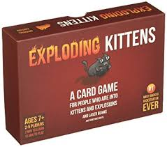 exploding kittens card game. Simple Game Exploding Kittens A Card Game About Kittens And Explosions Sometimes  Goats For I