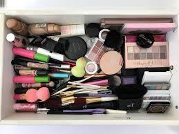 diy makeup drawer organization with dollar containers in diy plan architecture diy makeup