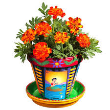 Picture of Crafty Chica Loteria Flower Pot