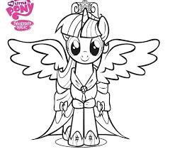 Printable My Little Pony Coloring Pages Koshigayainfo