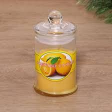 """<b>Свеча в стекле</b> """"Домашняя"""", ароматическая, <b>фруктовая</b>, 11×6 см ..."""