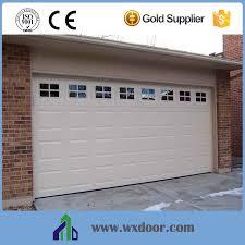 pu panel garage door factory auto sliding door remote sectional door automatic garage sectional door overhead sectional garage door flush panel garage