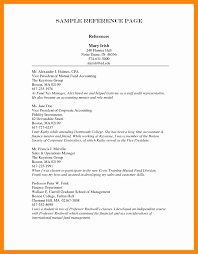 Resume References Page Reference Page Format Resume Name 28