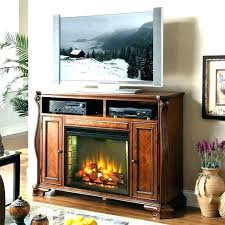 fireplace tv stand with soundbar electric pacer 72 contemporary back