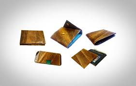 feel good friday theres nothing fishy about these salmon skin wallets tidal vision