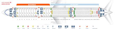 Seat Map Airbus A330 300 Air Canada Best Seats In Plane