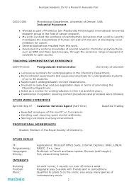targeted resume examples example of targeted resume targeted resume sample resumes targeted