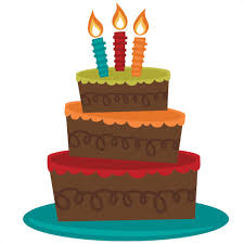 3 Tiered Birthday Cake Svg Cut File For Cutting Machines Birthday