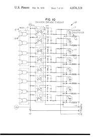 patent us electronic control system for operating a patent drawing
