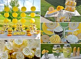 sunflower party theme