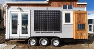 solar powered tiny house. This Solar Powered Tiny House On Wheels Is A Perfect Example Of Sustainable Living J