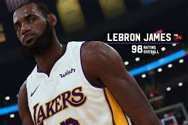 NBA 2K19 ratings for the Lakers ...