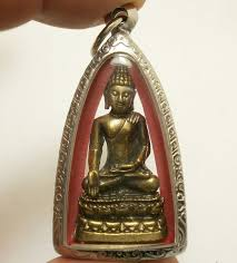 thai pendant lord buddha paireepinat blessed for strong protection lucky amulet