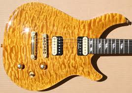 Amber Guitars, Amber Colored Guitars, Amber Stained Guitars & Amber Quilted Maple Top Guitar Adamdwight.com