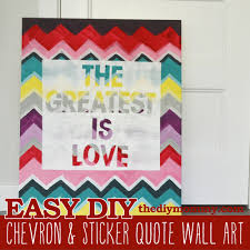chevron sticker e art by the diy mommy
