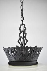 art deco skyser chandelier pendant chandelier black details
