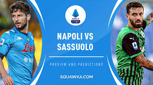 Napoli vs Sassuolo live stream: Watch Serie A online