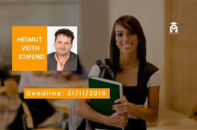 Helmut Veith Scholarship 2019 For Female Students In