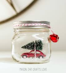 Decorated Jam Jars For Christmas Mason Jar Christmas Decorating Ideas Clean And Scentsible 45