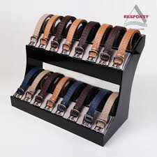 Leather Belt Display Stand Simple Belt Display Stand Gift Accessories Displays Series Pinterest