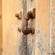 door handle old doorhandle on a private gate plakát obraz na zeď posters cz
